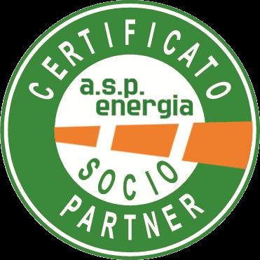 A.S.P.Energia certificato socio partner