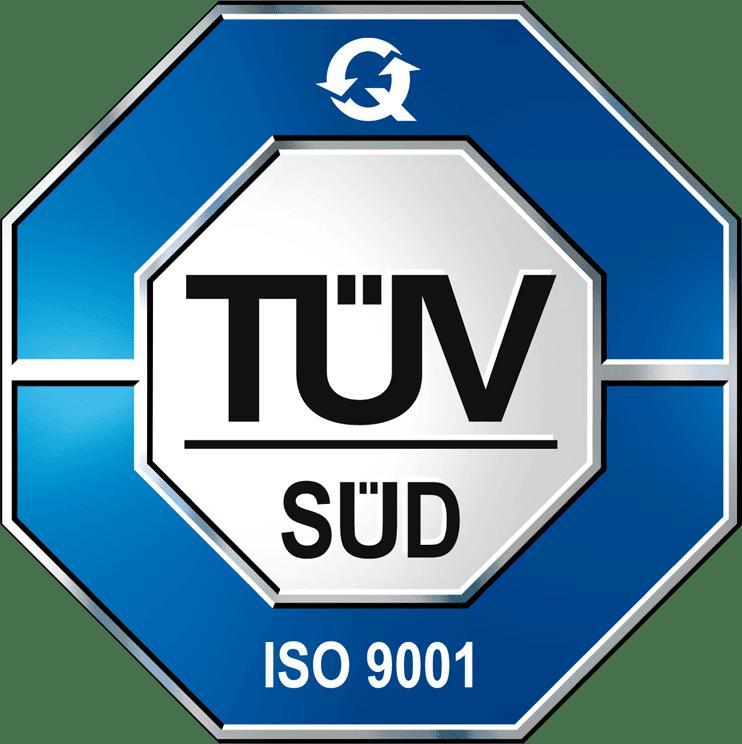 Certificazione TUV ISO 9001:2015